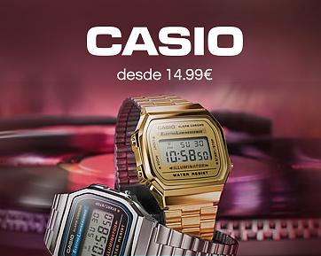 Especial Relógios Casio - Termina Amanhã