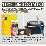 Exclusivo Fnac.pt - 10% de Desconto em Todos os Livros de Apoio, Dicionários e Papelaria - Só hoje!