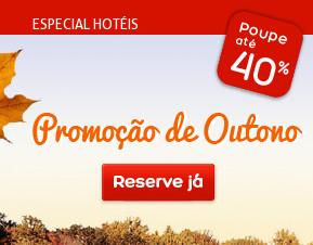 Especial Hotéis: Promoção de Outono {descontos até 40%}