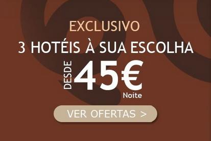 3 Hotéis à escolha por 45€ :: Prepara já a tua noite romântica!