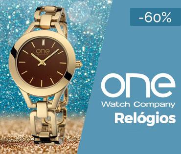Esta semana em campanha no wOne.pt Fashion: Relógios One (Mulher e Homem) até -60%