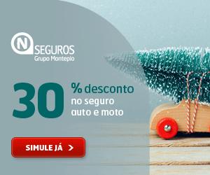 30% de desconto no seguro auto e moto - Este Natal, poupa no seguro!