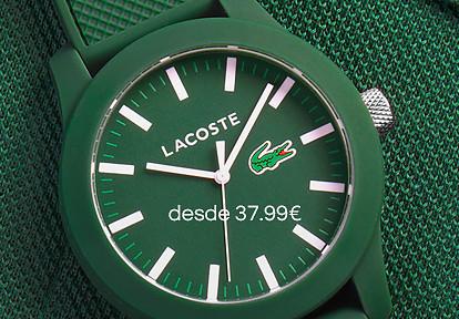 Relógios LACOSTE ® » Até 2 de maio, 37 modelos com desconto - Encontra o teu favorito!