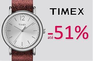 + Só no wOne.pt Fashion >> Relógios Timex com descontos até 51%