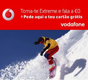 Oferta Cartão Vodafone: Fala a 0€ para todos os Extreme, Red, Yorn, e com SMS e MMS gratuitos para Vodafone. Pede aqui o teu cartão gratuito.